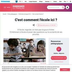 Parler de l'école en France - Ressources FLE migrants
