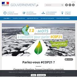 Parlez-vous #COP21 ?