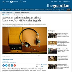 21/05/2014 European parliament has 24 official languages, but MEPs prefer English - The Guardian