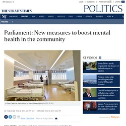 Parliament: New measures to boost mental health in the community, Politics News
