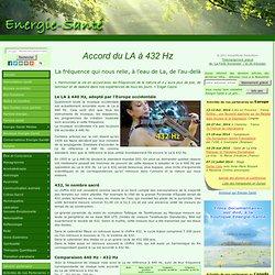 Parlons énergie » Blog Archive » Accord du LA à 432 Hz