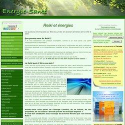 Parlons énergie » Blog Archive » Reiki et énergies