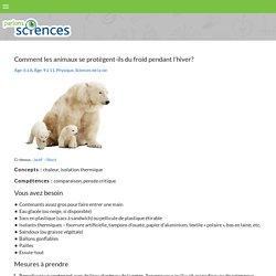 Parlons sciences - Activités à essayer!
