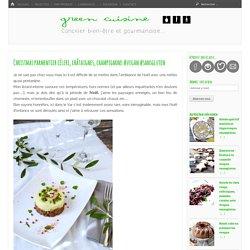 Christmas parmentier céleri, châtaignes, champignons #vegan #sansgluten