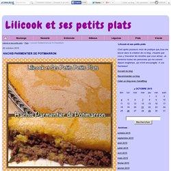 HACHIS PARMENTIER DE POTIMARRON - Lilicook et ses petits plats
