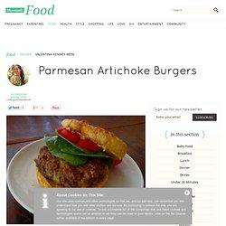 Parmesan Artichoke Burgers