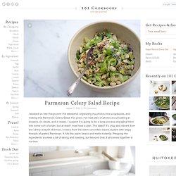 Parmesan Celery Salad Recipe