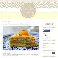 Gâteau de Crêpes aux Clémentines et Crème de Pistache