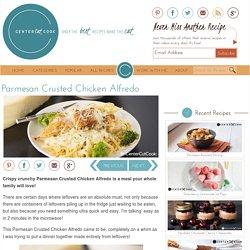 Parmesan Crusted Chicken Alfredo Recipe