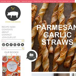 Parmesan Garlic Straw recipe
