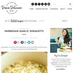 Parmesan Garlic Spaghetti