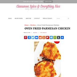Parmesan Crusted Chicken: Hellmann's Chicken Change-up | Cinnamon Spice & Everything Nice