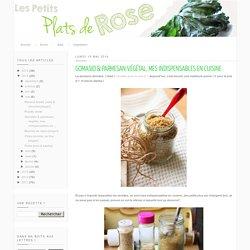 Gomasio & parmesan végétal, mes indispensables en cuisine