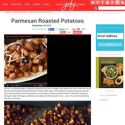 Parmesan Roasted Potatoes - StumbleUpon