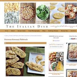 Parmesan RosemaryFlatbreads