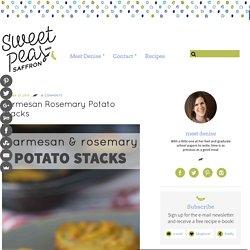 Parmesan Rosemary Potato Stacks