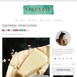 Vegan Parmesan - Sliceable & Grateable