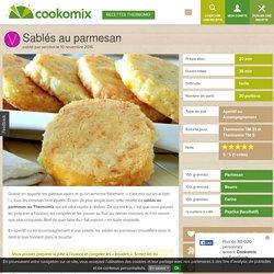 Sablés au parmesan au Thermomix - Cookomix