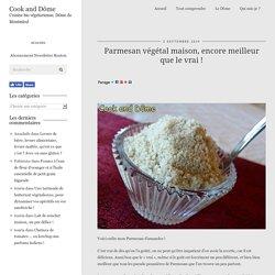Parmesan végétal maison, encore meilleur que le vrai ! - Cook and Dôme