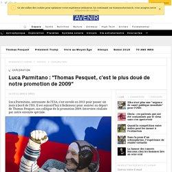 """Luca Parmitano (ESA) : """"Thomas Pesquet, le plus doué de notre promotion de 2009"""""""