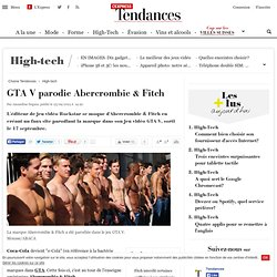 GTA V parodie Abercrombie & Fitch