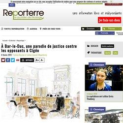 À Bar-le-Duc, une parodie de justice contre les opposants à Cigéo