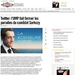 Twitter : l'UMP fait fermer les parodies du candidat Sarkozy