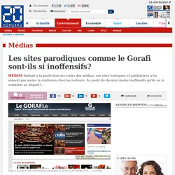 Les sites parodiques comme le Gorafi sont-ils si inoffensifs?