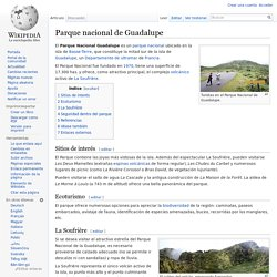Parque nacional de Guadalupe