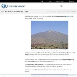 Todo sobre el Parque Nacional del Teide - qué ver, teleférico, flora y fauna