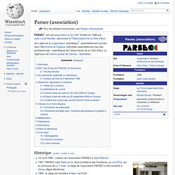 Parsec (association)
