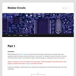 Modular Circuits