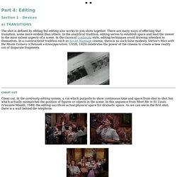Part 4: Editing