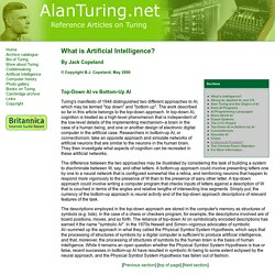 Part 9 - Top-Down AI vs. Bottom-up AI