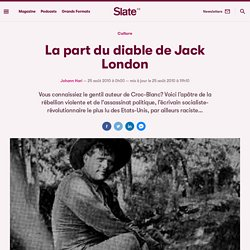 La part du diable de Jack London
