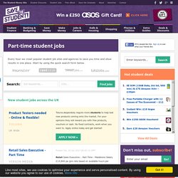 Part-Time Student Jobs
