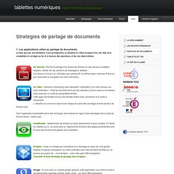 Partage de documents