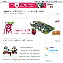 Partage Samba entre 2 Raspberry Pi sous Jessie