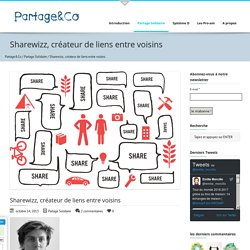 Sharewizz, créateur de liens entre voisins - Partage&Co