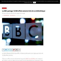 La BBC partage 16 000 effets sonores tirés de sa bibliothèque