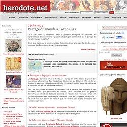 7 juin 1494 - Partage du monde à Tordesillas