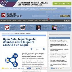 Open Data, le partage de données reste toujours associé à un risque
