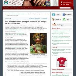 Des musées suédois partagent librement des images de leurs collections