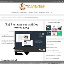 (Re) Partager ses articles WordPress avec Buffer