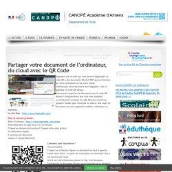 Tagmydoc : partager document avec le QR Code