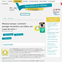 Réseaux sociaux : comment partager ses photos, ses vidéos, ses coups de coeur ?