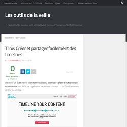Tline. Créer et partager facilement des timelines – Les outils de la veille