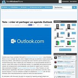 Tuto : créer et partager un agenda Outlook