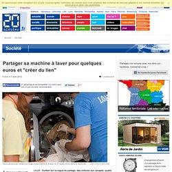 """LILLE - Partager sa machine à laver pour quelques euros et """"créer du lien"""""""
