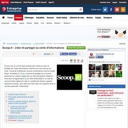 Scoop.it : créer et partager sa veille d'informations
